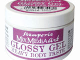 GLOSSY GEL (pâte relief translucide)