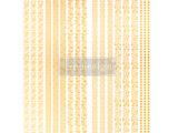 Gilded inlay scrolls  42.5 x 57.5cm