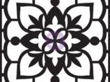 """""""Maroccan"""" Pochoir relief pour pavé 634018"""
