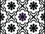 """""""Melilla Flower"""" Pochoir relief pour pavé 634094"""