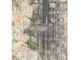 White Fleur  61 x 86cm