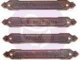 "Plaque Décorative en Métal ""Rusty Labels"""