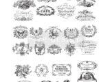Classic Vintage Labels 62 x 78cm (27 motifs)