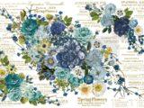 Cosmic Roses (EXTRA LARGE)  111 x 76cm