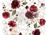 Midnight Floral  58 x 84cm
