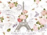 Marché Paris 59x88cm