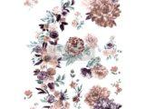 Burgundy Rose Garden 61x89cm