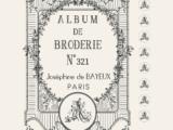 Album Broderie 38x47cm