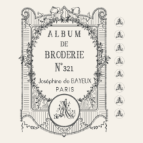 Transfert Album Broderie Amatxi