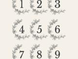 Numéros 7×8.3cm 9 numéros