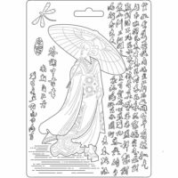 Moule Stamperia Geisha