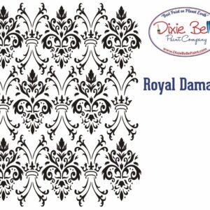 Pochoir Dixie Belle Royal Damask