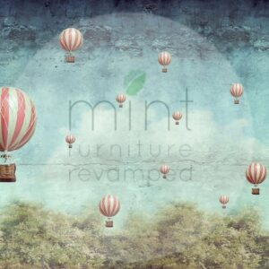 Balloons MINT by Michelle
