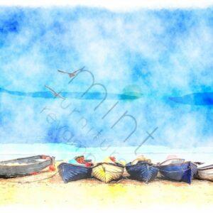 Coastal blue MINT by Michelle