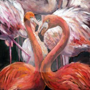 Flamingo MINT by Michelle