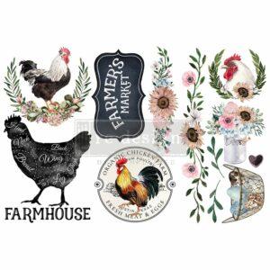 MORNING FARMHOUSE