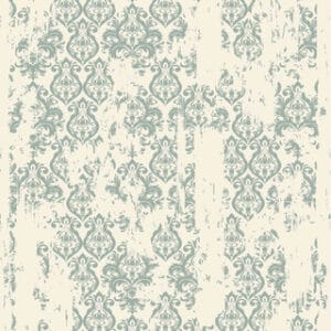 Rice Decoupage Paper A1 Distressed Damask