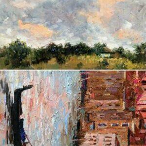 Rice Decoupage Paper A1 Gondola And Landscape