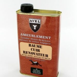 baume cuir renovateur incolore AVEL